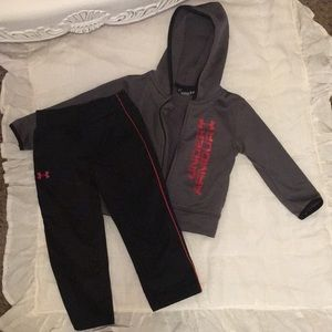 Under Armour hooded tracksuit